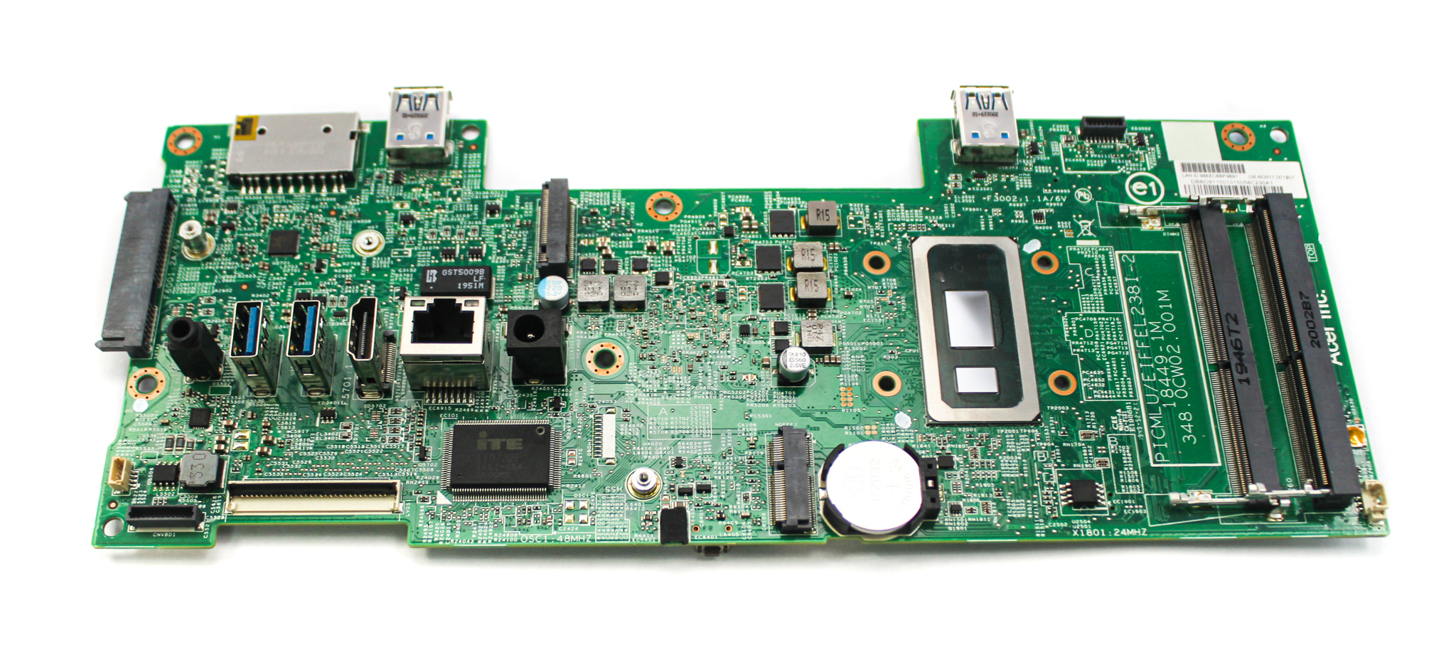 DB.BD911.001 Acer Aspire C24-960 AIO PC Motherboard /w BGA Core i5-10210U CPU